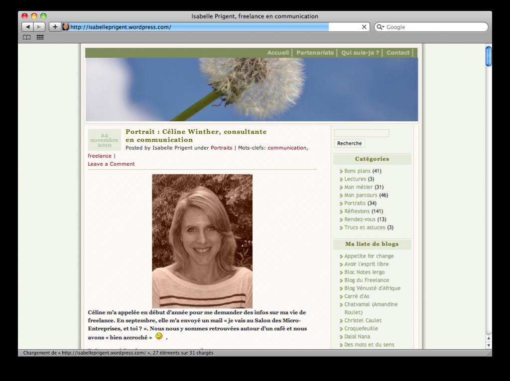 Isabelle Prigent, consultante en communication et réseaux sociaux