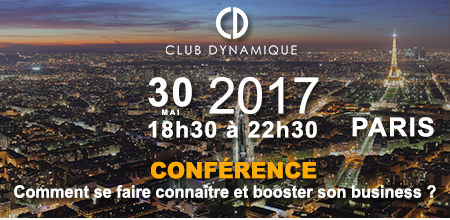 soir e conf rence du club dynamique comment se faire conna tre et booster son business le. Black Bedroom Furniture Sets. Home Design Ideas