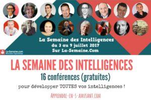 Bilan de La Semaine des Intelligences