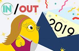 Une carte de vœux pour la nouvelle année : in ou out ?